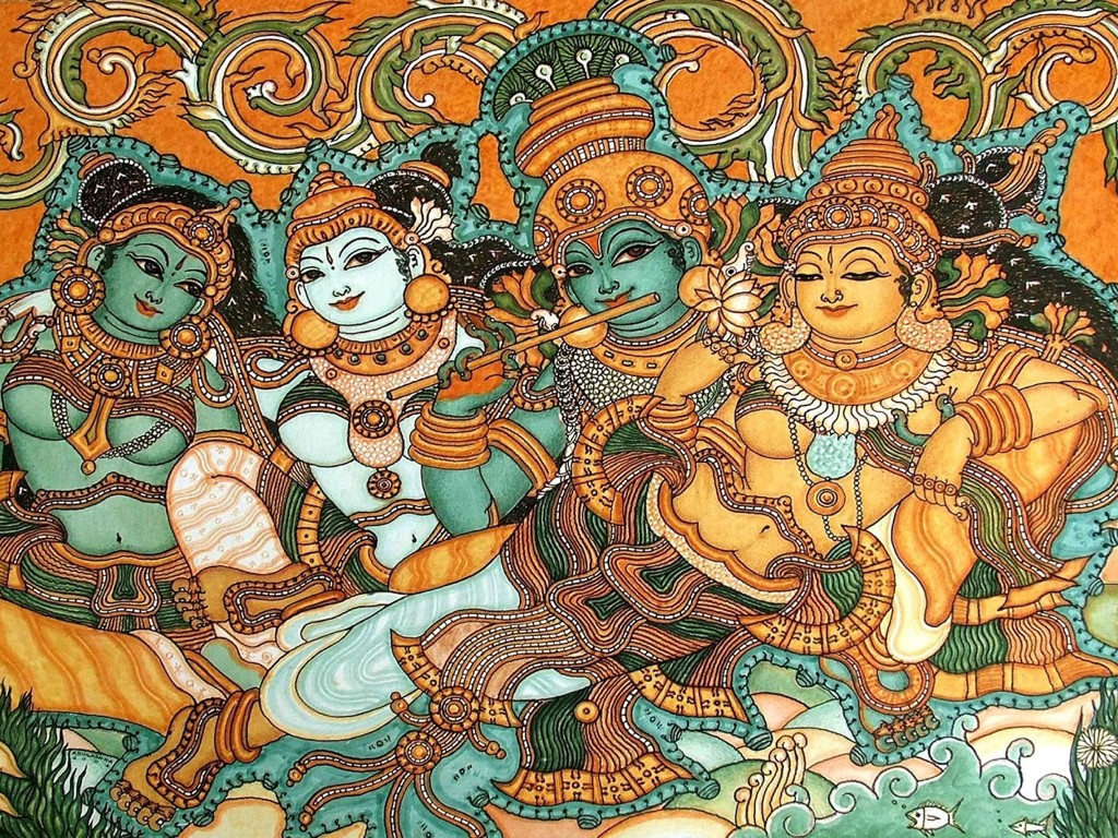 Bitcoin art from india ihb india bitcoin for Buy kerala mural paintings online