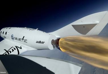 SpaceShip2 Rockets Ahead