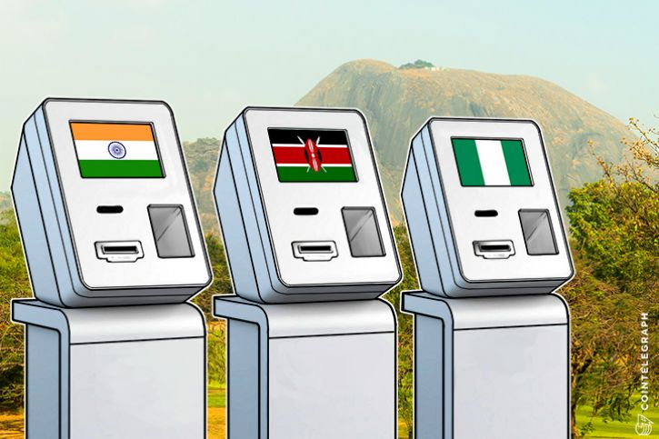 Bitcoin In India Nigeria Kenya To Spur Global ATM Market CoinTelegraph