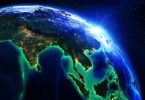 Planet-Earth-showing-Asia