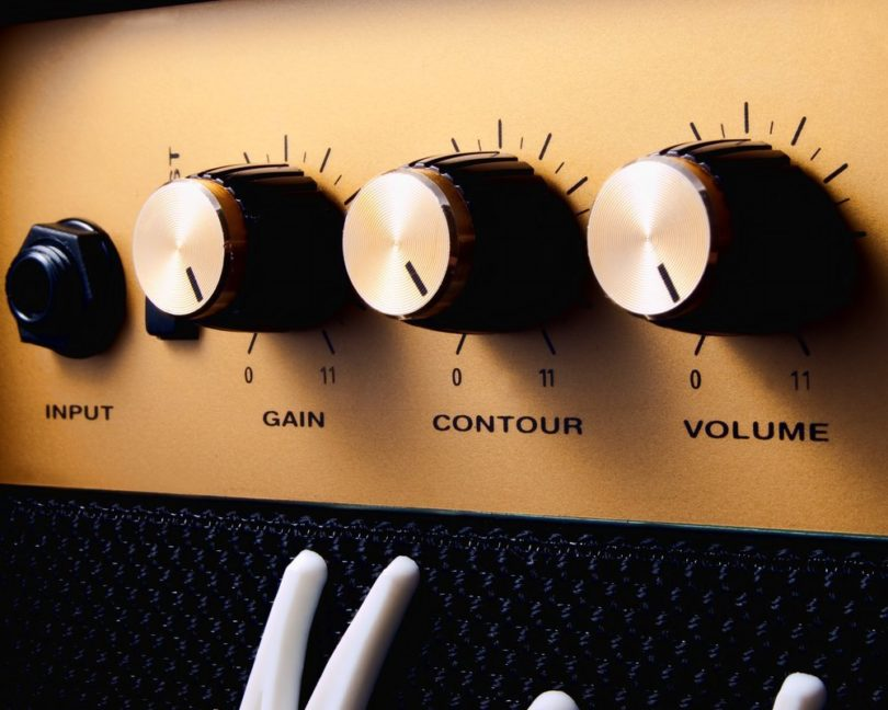 Volume-knobs