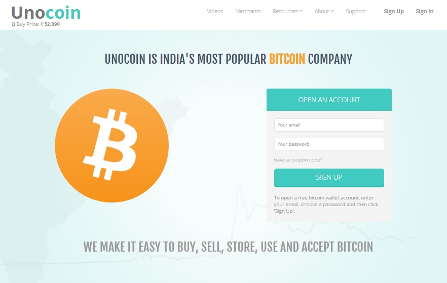 Unocoin releases api to enable bitcoin wallet transactions in the unocoin releases api to enable bitcoin wallet transactions in the country 20161107a020c14539a32dca0th1024x0 indias popular bitcoin ccuart Images